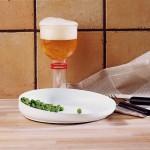 Le verre et l'assiette de la gamme Etac Tasty