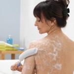 Brosse à laver le corps