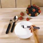 Couverts combinés couteau/fourchette Etac Light