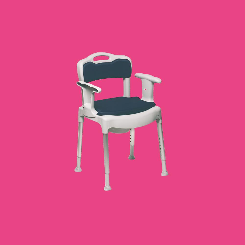 Chaise 3 en 1 avec coussins Etac Swift Commode