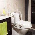 Surélevateur de toilettes Etac Cloo avec accoudoirs