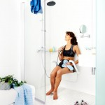 Siège de douche design Etac Relax blanc