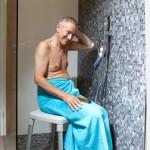 Tabouret de douche Etac Smart gris