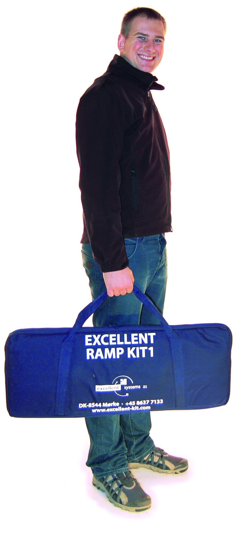 Un sac rigide à la taille du kit 1