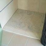 Solution pour accès douche