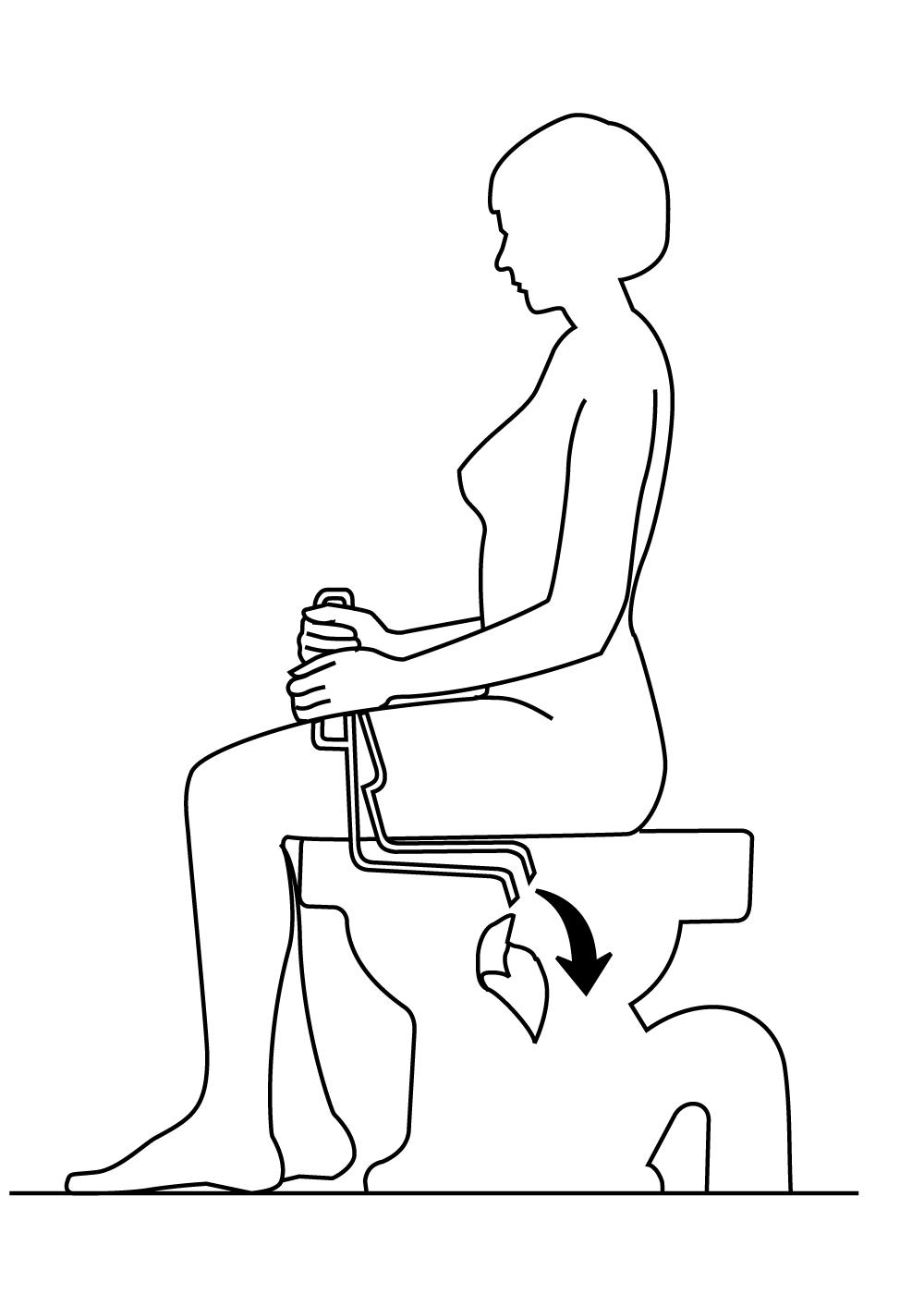 Etape 4 : ouvrez la pince et secouez là