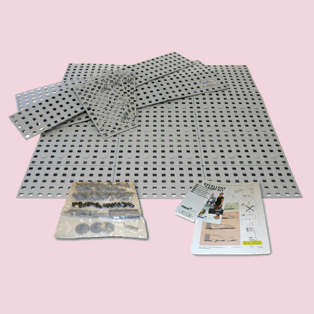 Rampe d'accès en kit n°3 avec instructions et pièces de montage