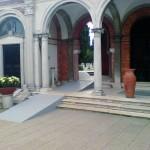 Rampe d'accès monument historique