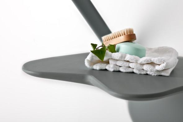 Design du siège de douche confortable