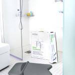 Siège de douche facile à monter